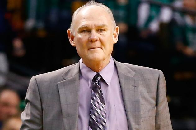 Coach George Karl Reaches Cool Milestone