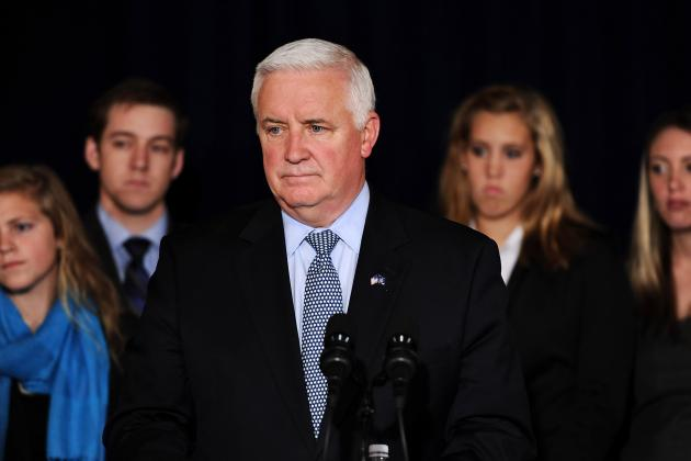 NCAA Sues Governor Tom Corbett and Other Pennsylvania State Officials