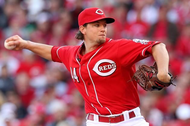 Reds' Leake Trying to Keep 5th Starter Spot