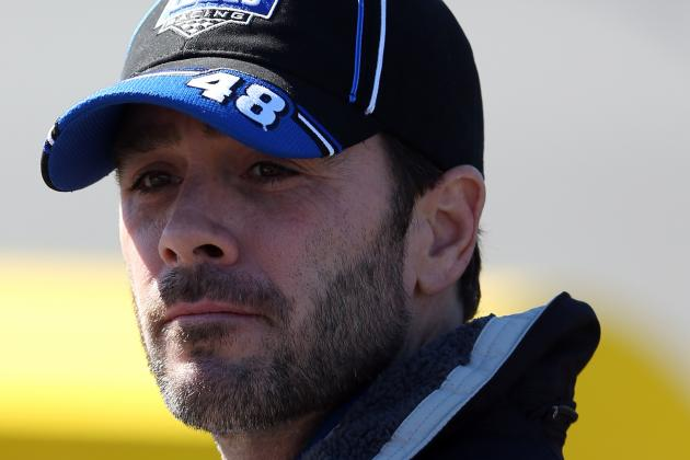 Johnson Not Having Much Plate-Racing Luck