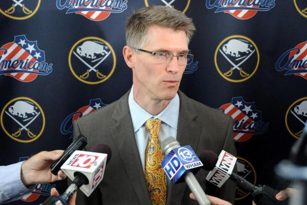 Sabres Tab AHL Rochester's Ron Rolston to Coach After Lindy Ruff Firing