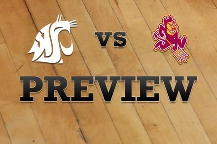 Washington State vs. Arizona State: Full Game Preview