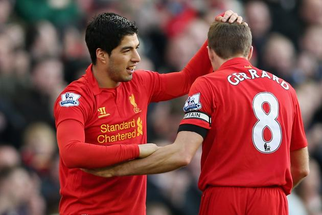 Suarez Is the 'Player of the Year', Claims Liverpool Captain Gerrard