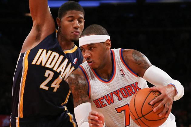 NBA Gamecast: Knicks vs. Pacers