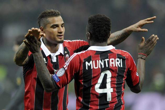AC Milan vs. Barcelona: GIF of Sulley Muntari's All-Important UCL Goal