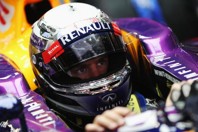 Vettel Happy with Car Despite Reliability Issues on Day Two