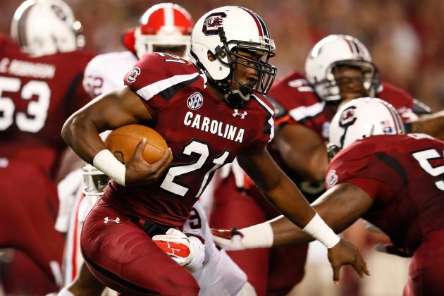 Marcus Lattimore's Speedy Recovery Will Solidify Running Back as Day 2 Pick