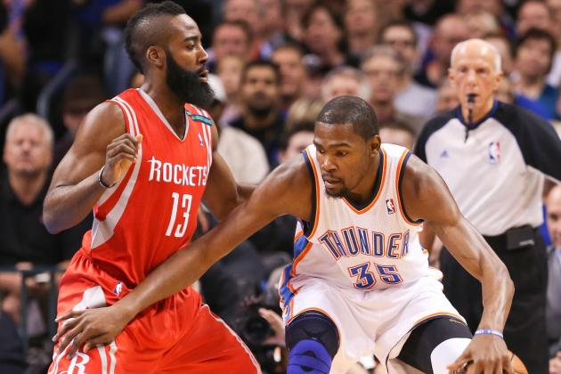 NBA Gamecast: Thunder vs. Rockets