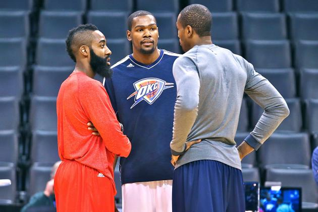 OKC Thunder vs. Houston Rockets: Live Score, Results and Game Highlights