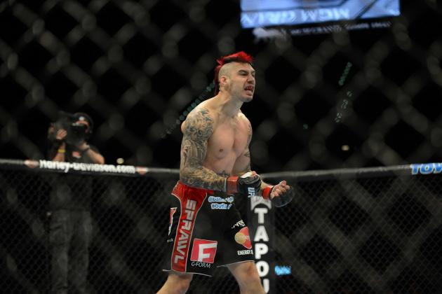 UFC on Fox 7: Is Dan Hardy in over His Head Against Matt Brown?