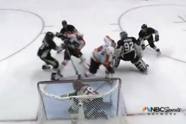 WATCH: This Nicklas Grossmann Goal Is Just Crazy