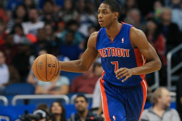 Brandon Knight Injury: Updates on Pistons Guard's Knee