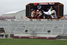 Lane Stadium's New Screen to Be a Big One in FBS