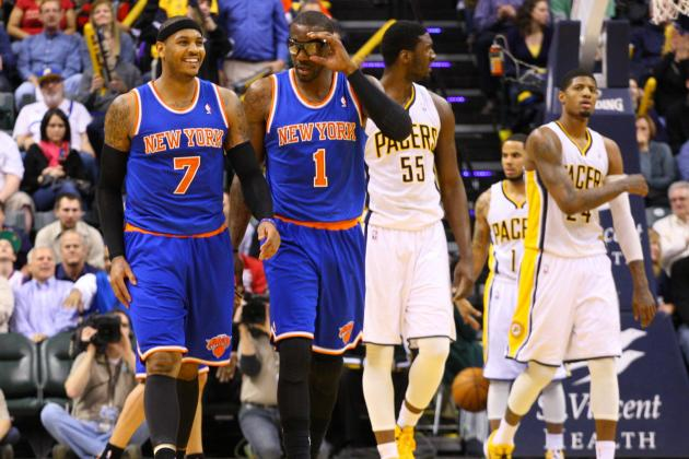 Knicks Embarrassed by Pacers, J.R. Smith Ejected
