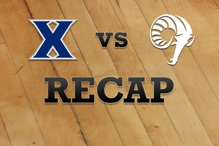 Xavier vs. Rhode Island: Recap, Stats, and Box Score