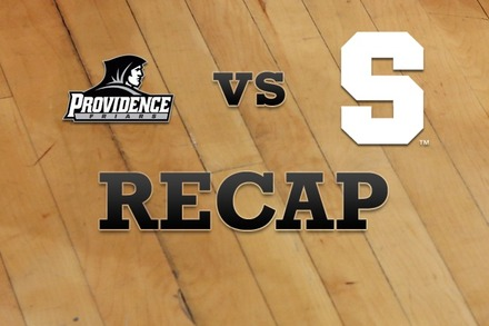 Providence vs. Syracuse: Recap, Stats, and Box Score