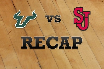 South Florida vs. St John's: Recap, Stats, and Box Score
