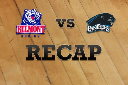 Belmont vs. Eastern Illinois: Recap, Stats, and Box Score