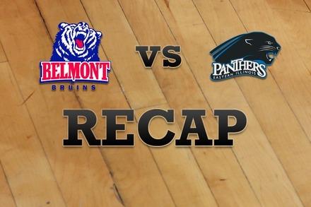 Belmont vs. Eastern Illinois: Recap, Stats, and Box Score