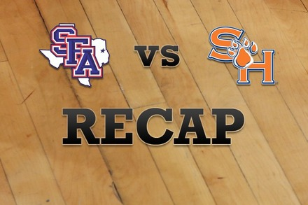 Stephen F. Austin vs. Sam Houston State: Recap, Stats, and Box Score
