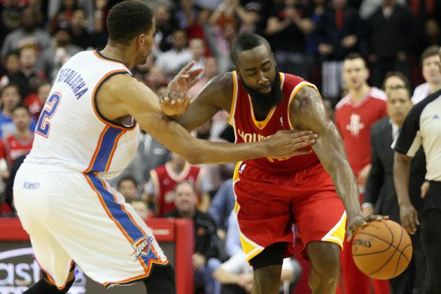 Harden Torches the Thunder as OKC Collapses, 122-119