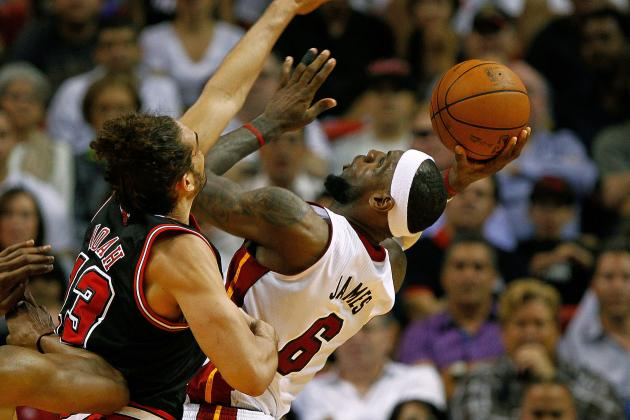 Bulls Center Joakim Noah Is Stoked to Play Heat