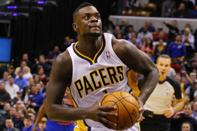 Lance Stephenson Goes Statue of Liberty on New York
