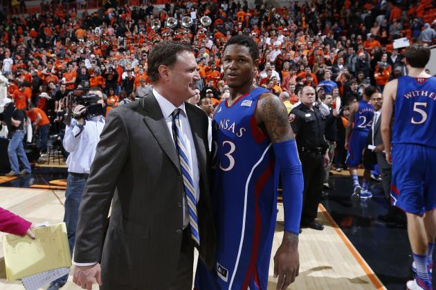 Nadiir Tharpe's Runner in Final Seconds of Double OT Lifts Kansas to Win