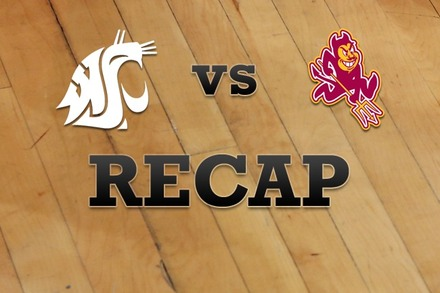 Washington State vs. Arizona State: Recap, Stats, and Box Score