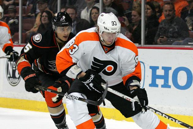 Voracek Scores Hat Trick as Flyers Edge Penguins