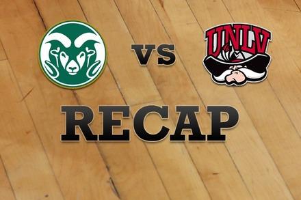 Colorado State vs. UNLV: Recap, Stats, and Box Score