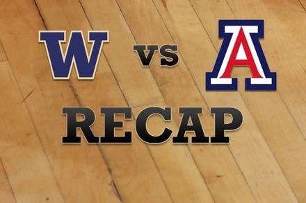 Washington vs. Arizona: Recap, Stats, and Box Score
