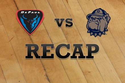 DePaul vs. Georgetown: Recap, Stats, and Box Score