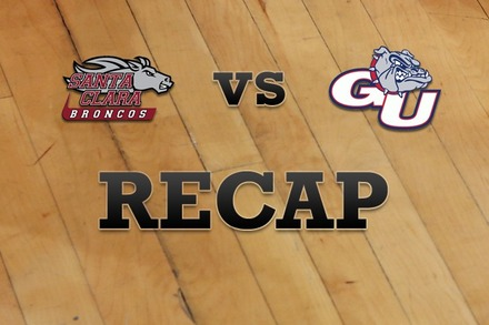 Santa Clara vs. Gonzaga: Recap, Stats, and Box Score