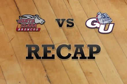 Santa Clara vs. Gonzaga: Recap, Stats, and Box Score