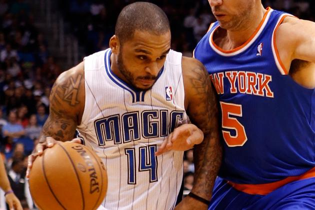 Jameer Nelson on His Knee Injury: 'Hopefully, It's Not Too Serious'
