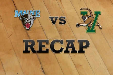 Maine vs. Vermont: Recap, Stats, and Box Score