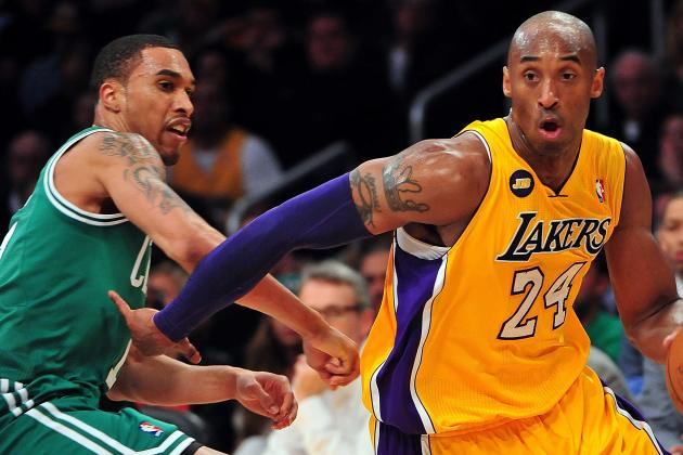 Lakers Own Celtics on Emotional Night