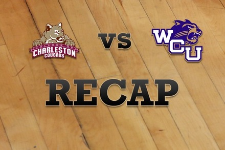 Charleston vs. Western Carolina: Recap, Stats, and Box Score