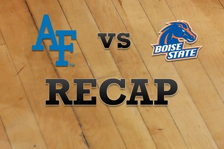 Air Force vs. Boise State: Recap, Stats, and Box Score
