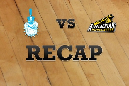 Citadel vs. Appalachian State: Recap, Stats, and Box Score