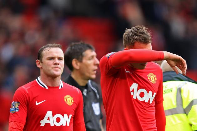 Rooney out of QPR Clash and Jones Could Miss Real Madrid Return Leg