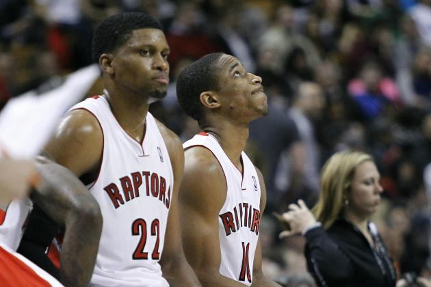 Toronto Raptors' Rudy Gay Has a Tough Night in Loss to Former Team