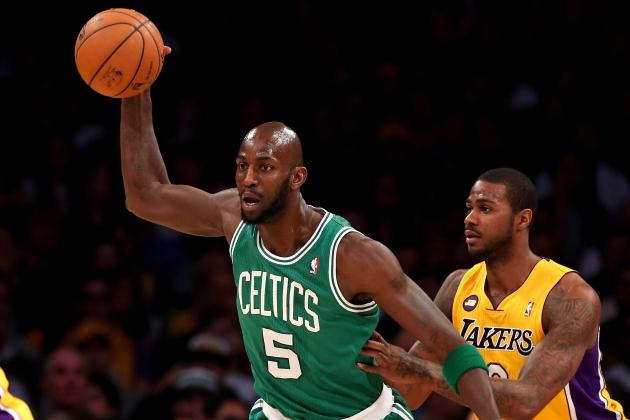 NBA Trade Deadline:  Boston Celtics Could Deal Kevin Garnett or Rajon Rondo
