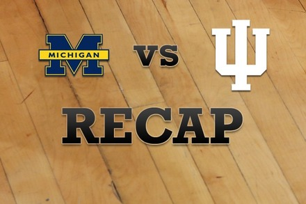 Michigan vs. Indiana: Recap, Stats, and Box Score
