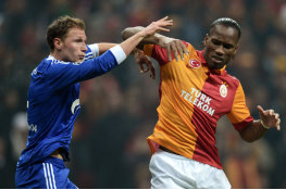 Schalke Raise Questions About Drogba