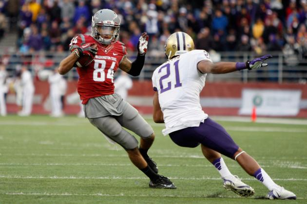 Wazzu's Leading Returning Receiver Cited