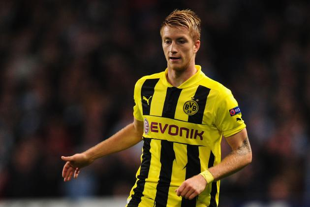 Manchester City in Chase for Marco Reus and Jesus Navas