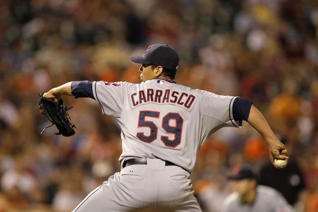 Carrasco Hoping to Stick in Indians Rotation