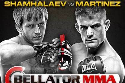 Bellator 90: Rad Martinez vs. Shahbulat Shamhalaev Play-by-Play and Live Results